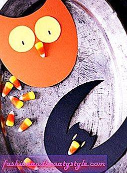 Halloween Craft How-To: Candy Corn Cards