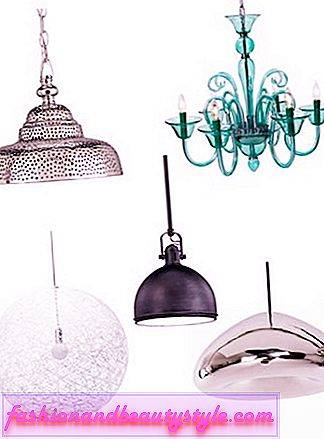 9 lampes suspendues brillantes