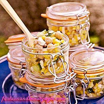 Corn and Chickpea Salad