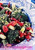 Broccoli och Almond Stir-Fry