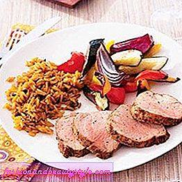 Roast Pork Tenderloin and Vegetables