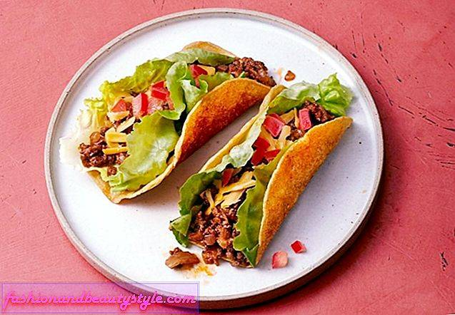 Ground Beef Tacos med kryddiga Skal